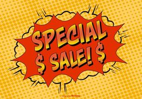 Illustration Comic Style Special Sale
