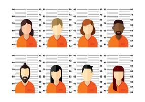 Mugshot Two Vector People Two