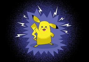 Personnage Pokemon Pokemon Pikachu vecteur