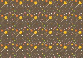 Vecteur étoiles sans poussière de pixie libre