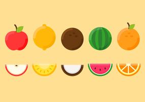 Vecteur de fruits gratuit