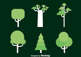 Vector de collection d'arbres