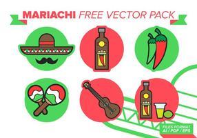 Pack gratuit de vecteur mariachi