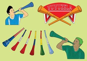 Icônes gratuites de Vuvuzela vecteur