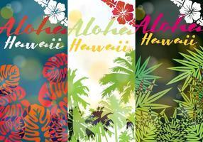 Aloha hawaii vecteur
