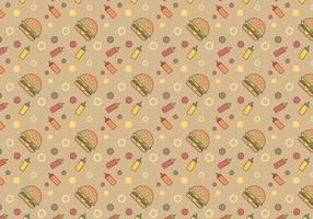 Vecteur hamburger gratuit