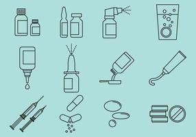 Types de médecine vecteur