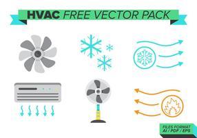 Pack de vecteur gratuit hvac