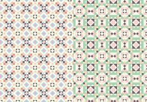 Motif motif pastel vecteur