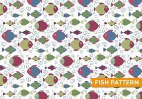 Vecteur de motif de poisson