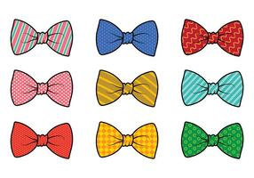 Ensemble de Cravat Vector