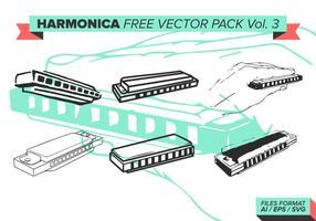 Pack vectoriel gratuit harmonica vol. 3