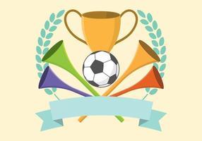 Illustration Vuvuzela gratuite pour vecteur
