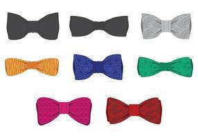 Ensemble de cravate vecteur