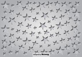 Fond gris avec des étoiles et des ombres vecteur