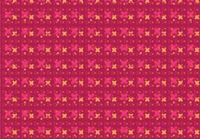 Motif floral moderne vecteur
