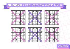 Sudoku pack vectoriel gratuit vol. 8