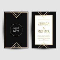 couverture de luxe pour les invitations