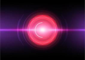 technologie laser abstrait vecteur