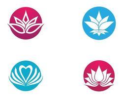 jeu de symboles de lotus