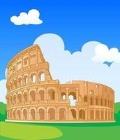 Colisée à Rome vecteur
