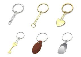 Vecteur de porte-clés gratuit