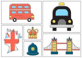 Vecteurs gratuits de Londres