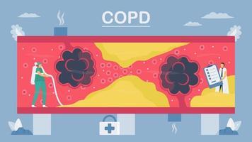 maladie pulmonaire en plein air