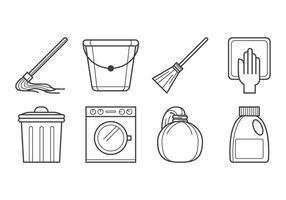 Vecteur d'icônes d'hygiène gratuit