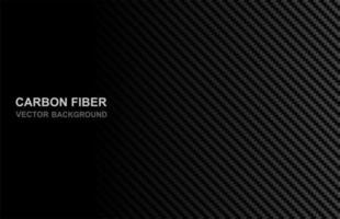fond abstrait en fibre de carbone noir vecteur