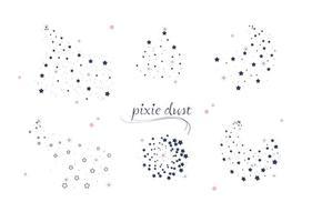 Pixie dust vector