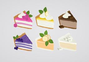Illustration de tarte vectorielle vecteur
