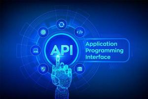Interface de programmation d'applications vecteur
