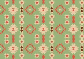 Modèle géométrique indigène vecteur