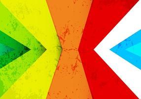 Fond coloré Rainbow Rainbow vecteur