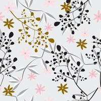 motif floral féminin