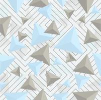 modèle sans couture de forme triangle