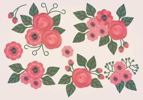 Compositions florales vectorielles