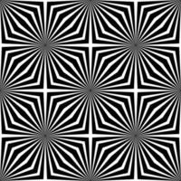 fond géométrique abstrait noir et blanc vecteur