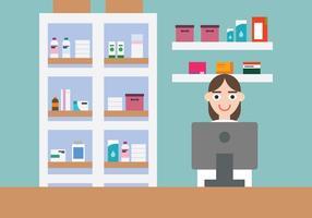 Pharmacie vecteur