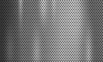 texture de grille en métal argenté