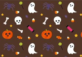Vecteur de motif Halloween gratuit