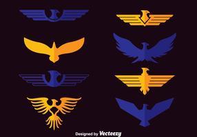Vecteur symbole d'aigle