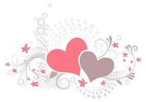 Vecteur d'illustration d'amour