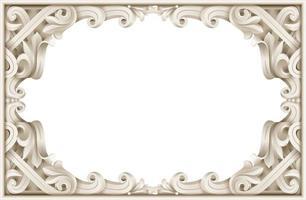 cadre baroque vintage
