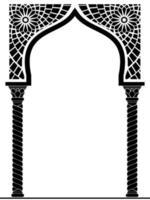 arc architectural de style arabe ou oriental
