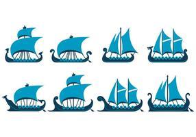 Vecteur de viking ship