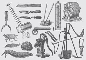 Les outils de jardin et de ferme constituent un