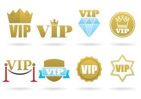 Logos VIP vecteur