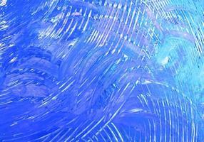 beau fond de texture peinte en bleu vecteur